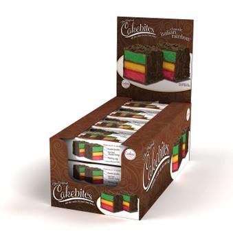 Cookies United, Cakebites, Classic Italian Rainbow Cake, 2 oz. (96 count)