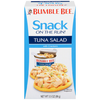 Bumble Bee, Tuna Salad Kit with Crackers, Ready to Eat, 3.5 oz. (1 Count)