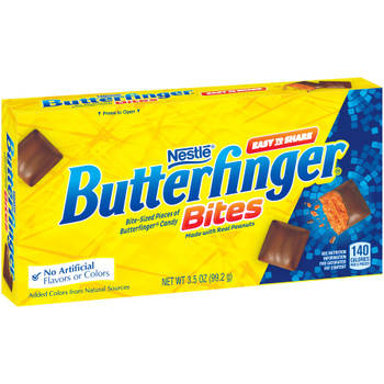 Butterfinger Bites, 3.5 oz. Theater Box (1 Count)