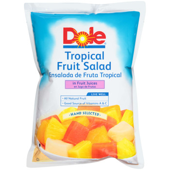 Dole, Tropical Fruit Salad in Fruit Juices, 81 oz. (6 count)