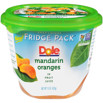 Dole, Mandarin Oranges Fridge Pack, 15 oz. (8 count)