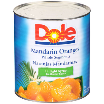 Dole, Mandarin Oranges in Light Syrup, 100 oz. (6 count)