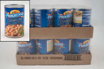 Progresso, Cannellini White Kidney Beans, 15 oz. can. (24 count)