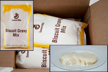 General Mills, Biscuit Gravy Mix, 1.5 lb.  (6 count)