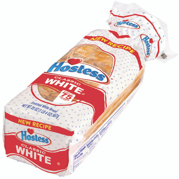 Hostess, White Bread, 20 oz. Loaf, (4 count)