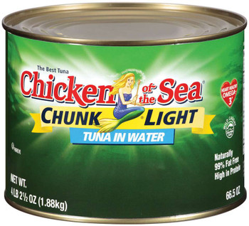 Chicken Of The Sea, Imported Chunk Light Tuna in Water,  66.5 oz. (6 count)
