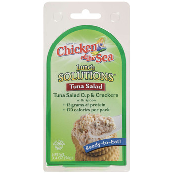 Chicken Of The Sea, Low Sodium Tuna Salad Bowl, 3.4 oz.  (8 count)