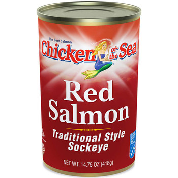 Chicken Of The Sea, Red Salmon, 14.75 oz. (12 count)