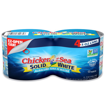Chicken Of The Sea, Solid Albacore Tuna In Water, 5 oz. - 6 Pack (4 count)