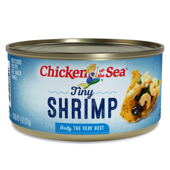 Chicken Of The Sea, Tiny Shrimp, 4 oz. (12 count)