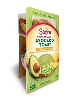 Sabra, Avocado Spread With Toast, 2.7 oz. (8 count)