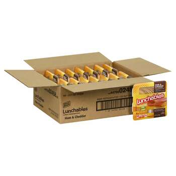 Lunchables, Ham & Cheddar Cheese, 3.2 oz (16 count)