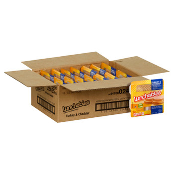 Lunchables, Turkey & Cheddar Cheese, 3.2 oz (16 count)