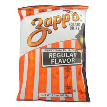 Zapp's Potato Chips, Regular Flavor, 1.5 oz. (60 count)