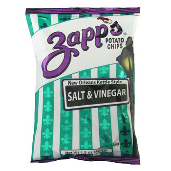 Zapp's Potato Chips, Salt & Vinegar , 1.5 oz. (60 count)
