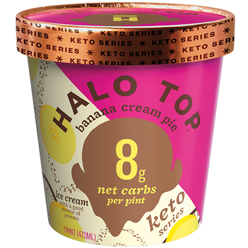 Halo Top, Keto Banana Cream Pie, Pint (1 Count)