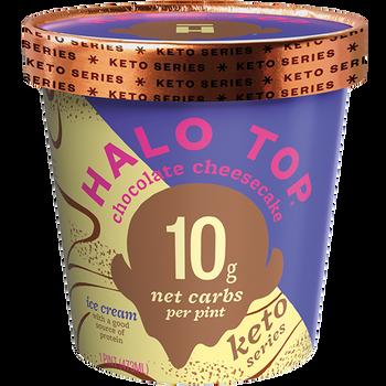 Halo Top, Keto Chocolate Cheesecake, Pint (1 Count)