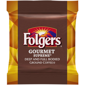 Folgers, Caffeinated Fraction Pack Gourmet Supreme, 1.75 oz. (100 Count)