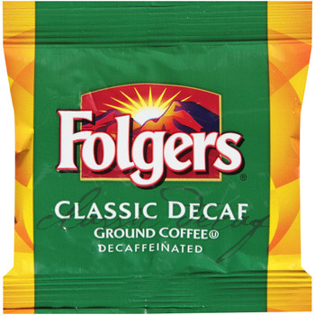 Folgers, Decaffeinated Classic Roast Coffee Fraction Pack, 1.09 oz. (92 Count)