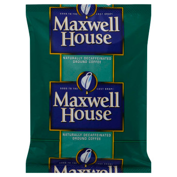 Maxwell House, Decaffeinated Ground Coffee, 1.25 oz. (128 Count)