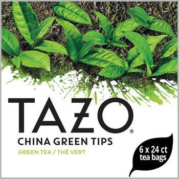Tazo, China Green Tips Tea Bag , 24 Bags, (6 Count)