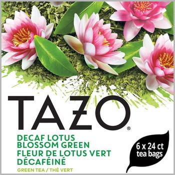 Tazo, Decaf Lotus Blossom Green Tea Bag , 24 Bags, (6 Count)