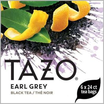 Tazo, Earl Grey Hot Tea , 24 Bags, (6 Count)