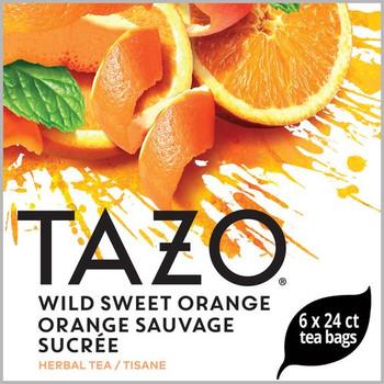Tazo, Wild Sweet Orange Tea Bag, 24 Bags, (6 Count)