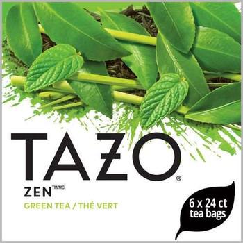 Tazo, Zen Green Tea Bag, 24 Bags, (6 Count)