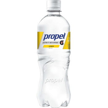 Propel, Lemon Flavored Electrolyte Water, 16.9 oz. (24 Count)