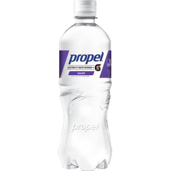 Propel, Grape Flavored Electrolyte Water, 16.9 oz. (24 Count)