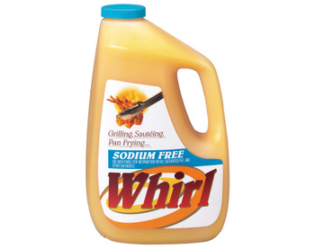 Whirl, Sodium Free Butter Flavored Oil, 1 gal. (3 Count)