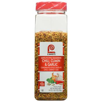 Lawry's, Chili Cumin & Garlic Santa Fe Style, 19 oz. (6 Count)