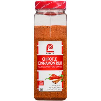 Lawry's, Chipotle Cinnamon Rub, 27 oz. (6 Count)