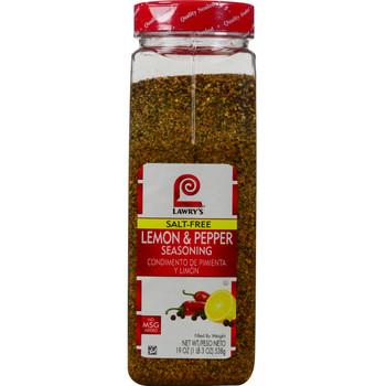 Lawry's, Lemon Pepper Seasoning, 19 oz. (6 Count)