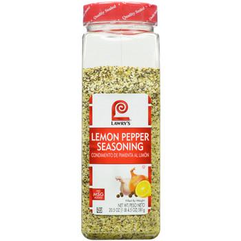 Lawry's, No MSG Lemon Pepper Seasoning, 20.5 oz. (6 Count)