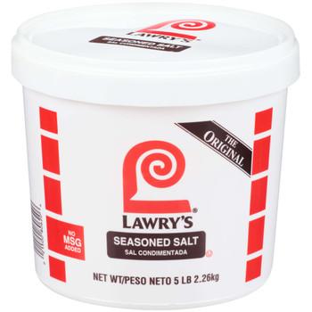 Lawry's, No MSG Seasoning Salt, 5 lb. (2 Count)