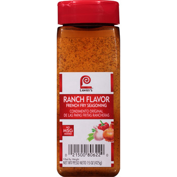 Lawry's, Ranch French Fry Seasoning, 15 oz. (6 Count)