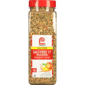 Lawry's, Salt Free 17 Seasoning, 20 oz. (6 Count)
