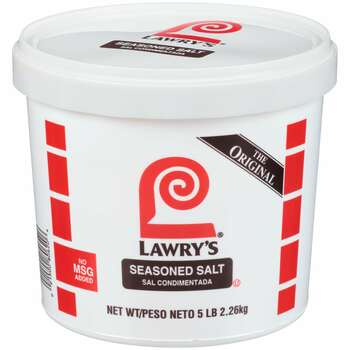 Lawry's, Seasoned Salt, Kosher, Halal, 5 lb. (4 Count)