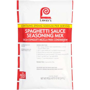 Lawry's, Spaghetti Sauce Seasoning Mix, 12 oz. (6 Count)