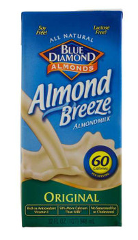 Blue Diamond, Original Almond Milk, 32 oz. (12 Count)