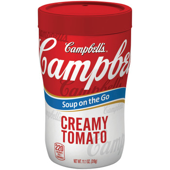 Campbell's, Soup at Hand, Creamy Tomato, 10.75 oz. Microwavable Cup (1 Count)