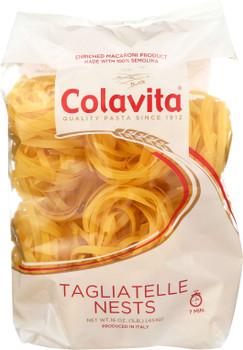 Colavita, Tagliatelle Nest Pasta, 1 lb. (10 Count)