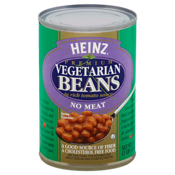 Heinz, Vegetarian Beans in Tomato Sauce, 16 oz. (12 Count)