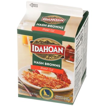 Idahoan, Foods Fresh Cuts Hashbrown Potatoes, 2.125 oz. (6 Count)