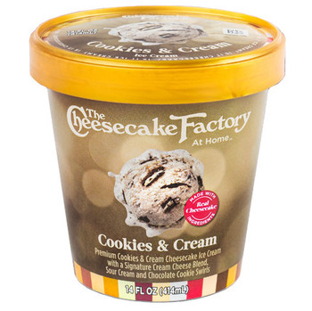 The Cheesecake Factory, Cookies & Cream, Pint (1 Count)