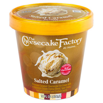 The Cheesecake Factory, Salted Caramel, Pint (1 Count)