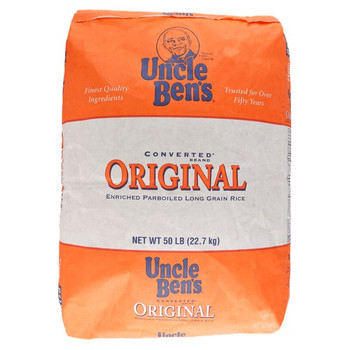 Uncle Ben's, Converted Rice, 50 lb. (1 Count)