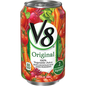 V8, Original Vegetable Retail Can, 11.5 oz (24 Count)